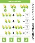 solve the equations. addition... | Shutterstock .eps vector #1737716279