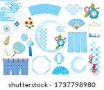 japanese traditional summer... | Shutterstock .eps vector #1737798980