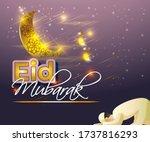 vector illustration of greeting ... | Shutterstock .eps vector #1737816293