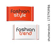 fashion style and fashion trend ... | Shutterstock .eps vector #173793986