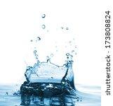 very beautiful water splash... | Shutterstock . vector #173808824