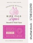 family recipe figs liquor... | Shutterstock .eps vector #1738131050