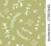Seamless Pattern With Various...