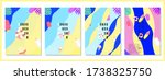 summer tropical covers... | Shutterstock .eps vector #1738325750