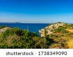 Sea View Of Afandou In Rhodes ...