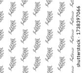 floral seamless pattern.... | Shutterstock .eps vector #1738397066