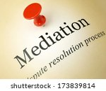 Small photo of Law and mediation