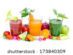 fresh  organic fruit and... | Shutterstock . vector #173840309