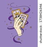 halloween illustration. fortune ...   Shutterstock .eps vector #1738426346