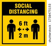 Social Distancing Keep A Safe...