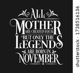 all mother are equal but... | Shutterstock .eps vector #1738516136