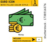 euro currency premium vector...