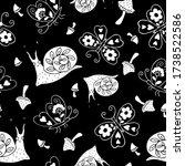 Pattern Decorative Snails ...