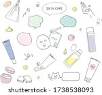 basic cosmetics and face...   Shutterstock .eps vector #1738538093