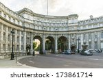 View Of Admiralty Arch  Betwee...