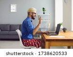 Half Dressed Employee Guy...