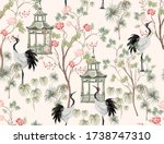 Beautiful Exotic Chinoiserie...