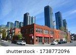 montreal quebec canada 05 07...   Shutterstock . vector #1738772096