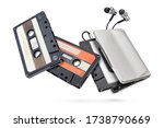 Metallic Portable Player With...