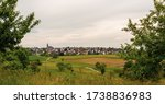 Panorama Of A Small Town. A...