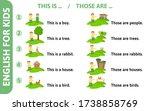 English For Kids Playcard....