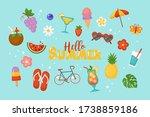 summer background for social... | Shutterstock .eps vector #1738859186