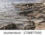 Cool River Water Edge On A...