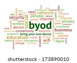 byod bring your own device ... | Shutterstock . vector #173890010