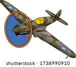 P 40 Warhawk World War Ii...