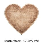 Wooden Heart Shape Board ...