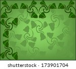 abstract background with sprigs ... | Shutterstock .eps vector #173901704