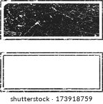 grunge stamps | Shutterstock .eps vector #173918759