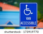 Van Accessible Sign For...