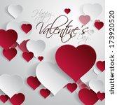 vector illustration abstract 3d ... | Shutterstock .eps vector #173920520
