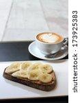 coffee and breakfast | Shutterstock . vector #173925383
