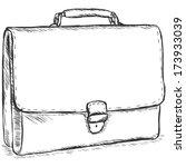 vector sketch illustration  ... | Shutterstock .eps vector #173933039