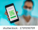 Corona Virus App With Qr Code ...