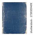 Old Vintage Blue Book Isolated...