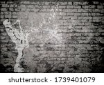 Grunge Decayed Faded Brick Wall ...