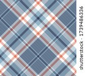 plaid pattern texture in blue ...   Shutterstock .eps vector #1739486336
