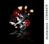 floral set | Shutterstock . vector #173949479