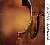 vintage cello background  | Shutterstock . vector #173952440