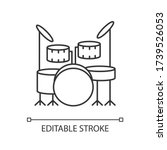 Drum Kit Pixel Perfect Linear...