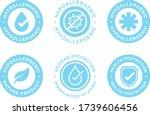 hypoallergenic tested logo...   Shutterstock .eps vector #1739606456