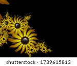 Fractal Image With Flowers On...