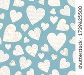 Vector Scrapbook Love Seamless...