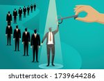 vector business concept... | Shutterstock .eps vector #1739644286