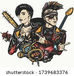 Punk Rock. Musicians And...