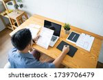 working from home web designing ...