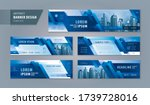 abstract banner design web... | Shutterstock .eps vector #1739728016